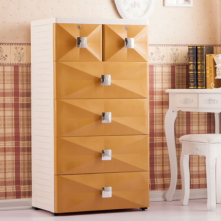 Good Health New European Style Thickened Drawer Storage Cabinets Baby  Childrenu0027s Wardrobe Lockers Finishing Cabinet
