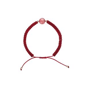 本命年红绳编织手绳情侣手链女一对纪念手工鼠年编织绳礼物红手绳