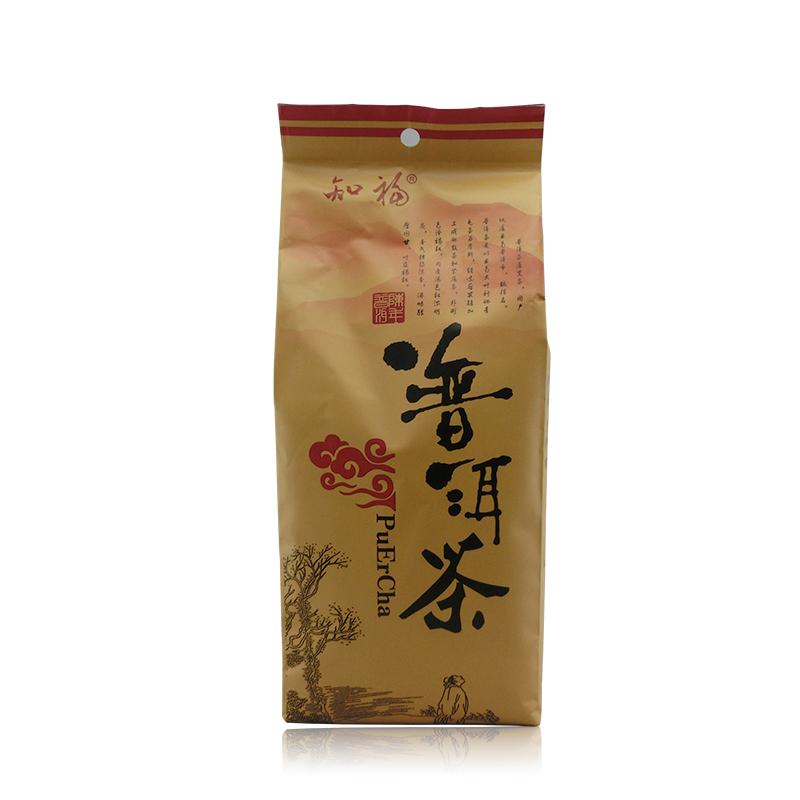 知福 云南普洱茶 勐海陈年普洱熟茶 袋装400g