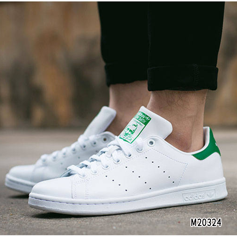 9031e370d78 ADIDAS Adidas clover men's shoes women's shoes green tail small white shoes  sports shoes casual shoes