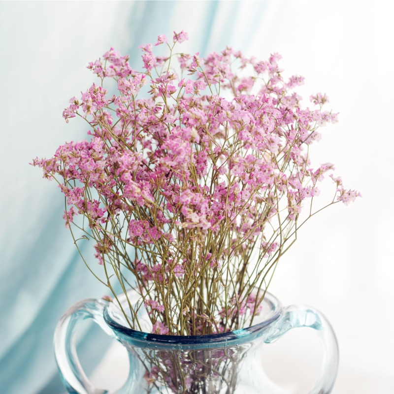 Usd 802 Yunnan Crystal Grass Dried Flower Bouquet Real Flower