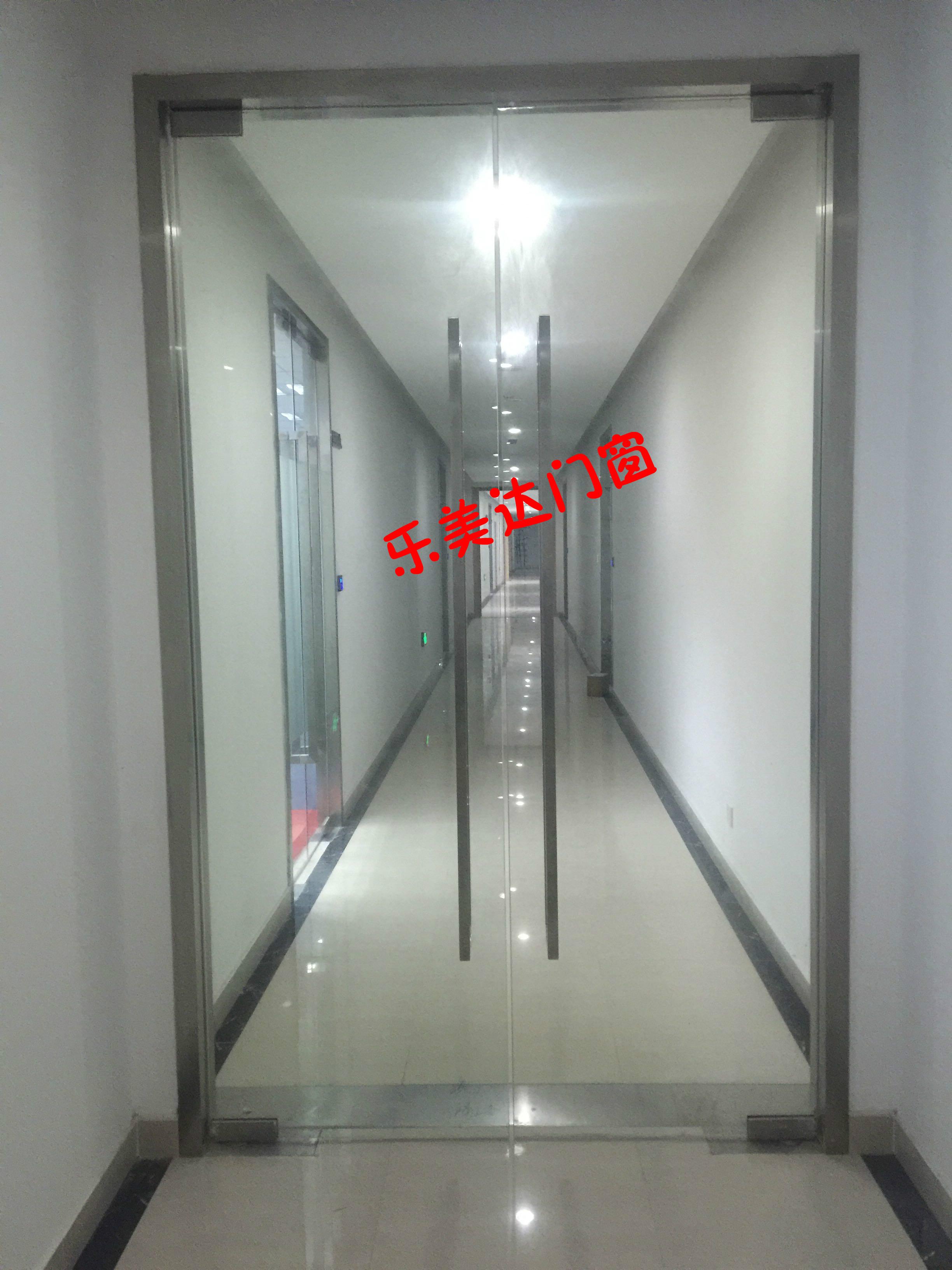Usd 2982 Shanghai Custom 12mm Office Access Control Glass Door