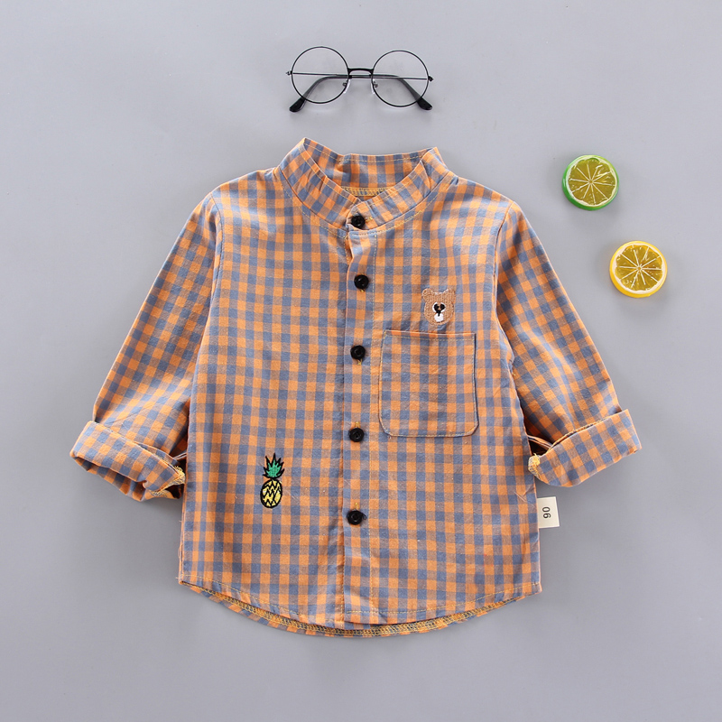 EMBROIDERED BEAR SHIRT YELLOW