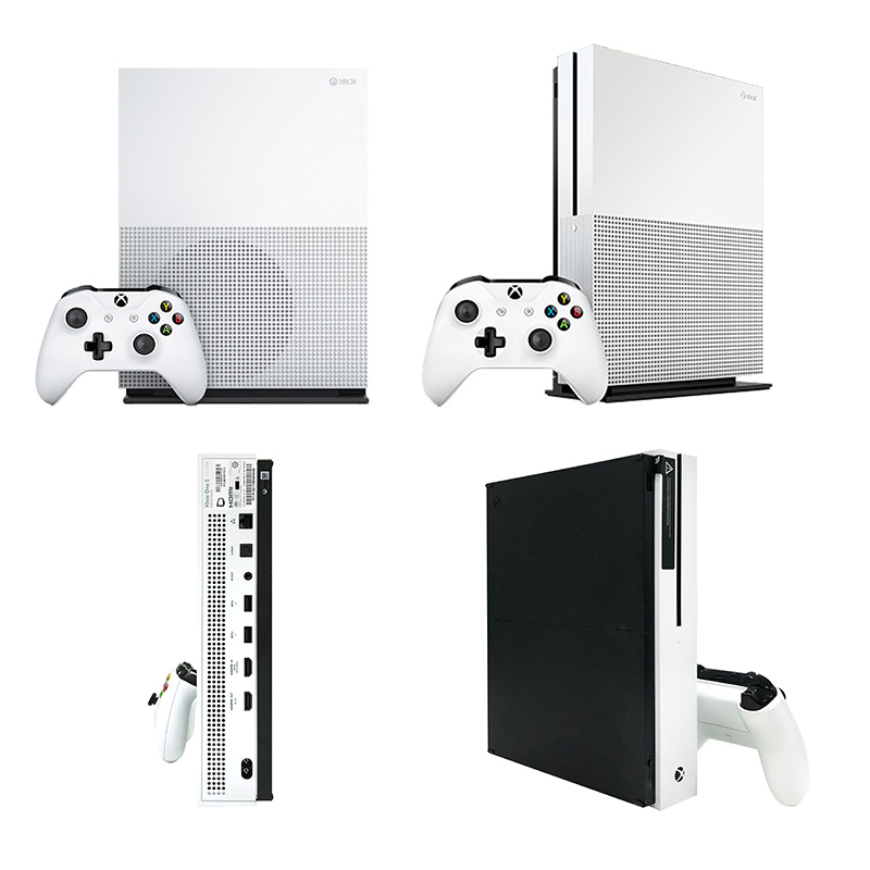 微软 Xbox One S 1TB家庭娱乐电视游戏机(可配体感) 普通版