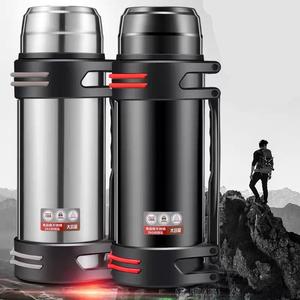 格莱304不锈钢大容量保温杯保温壶旅游壶水壶保温壶户外车载