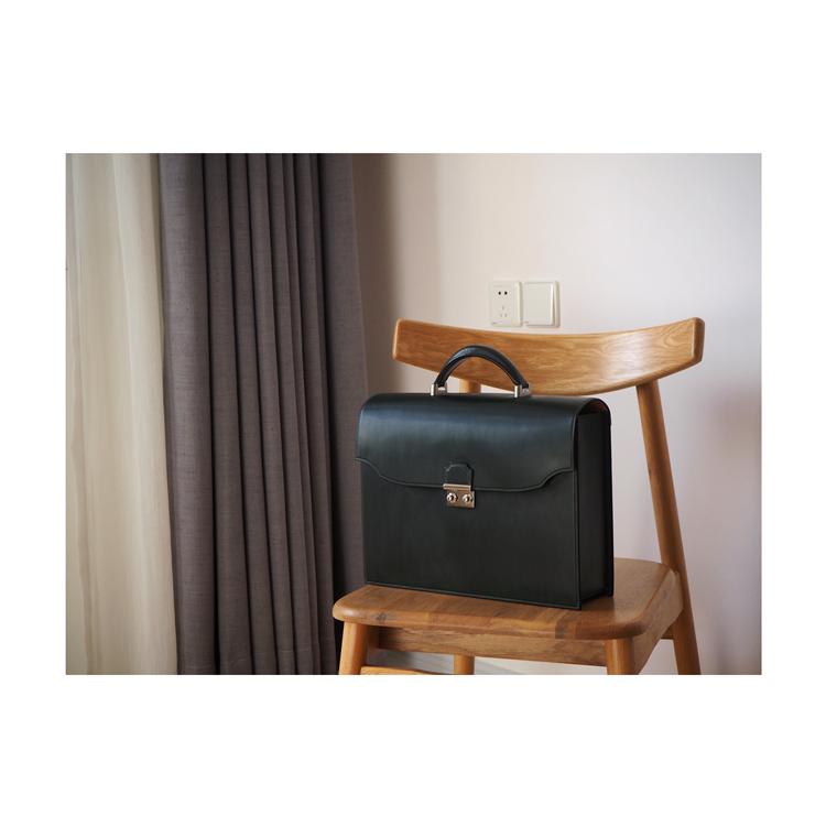 #现货# 白馬手造 |手工制作皮具 公文包/手拎包 手工缝制