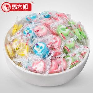 马大姐遇见花开创意糖果500g 手工水果切片糖果硬糖 婚庆喜糖