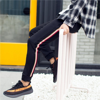 Men Wei pants autumn 2017 new casual pants male wild Korean tide sports pants spring models men harem pants