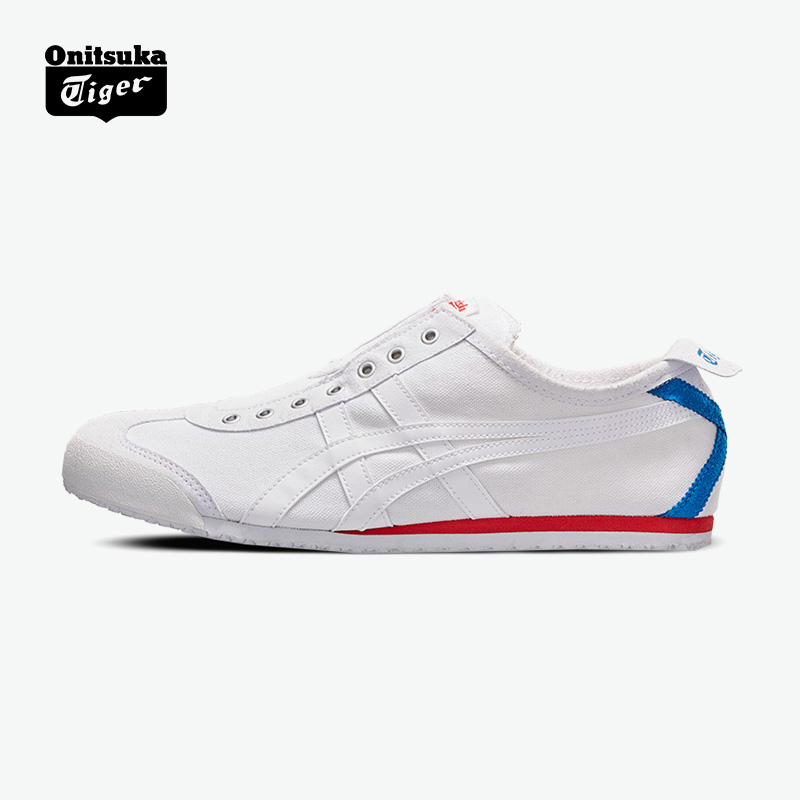 quality design 4663b 06642 Onitsuka Tiger/Ghost Tiger Casual Canvas Loafers MEXICO 66 SLIP-ON D3K0N