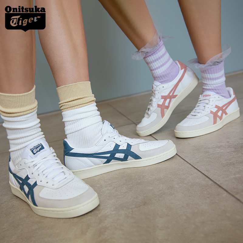 the best attitude 363ed ede28 Onitsuka Tiger 鬼塚虎男女清新复古运动板鞋休闲鞋GSM D5K2Y ...