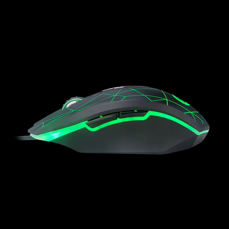 Wild Lin inscription 100 shepherd cf lol eat chicken mouse wired USB electric competition game dimming