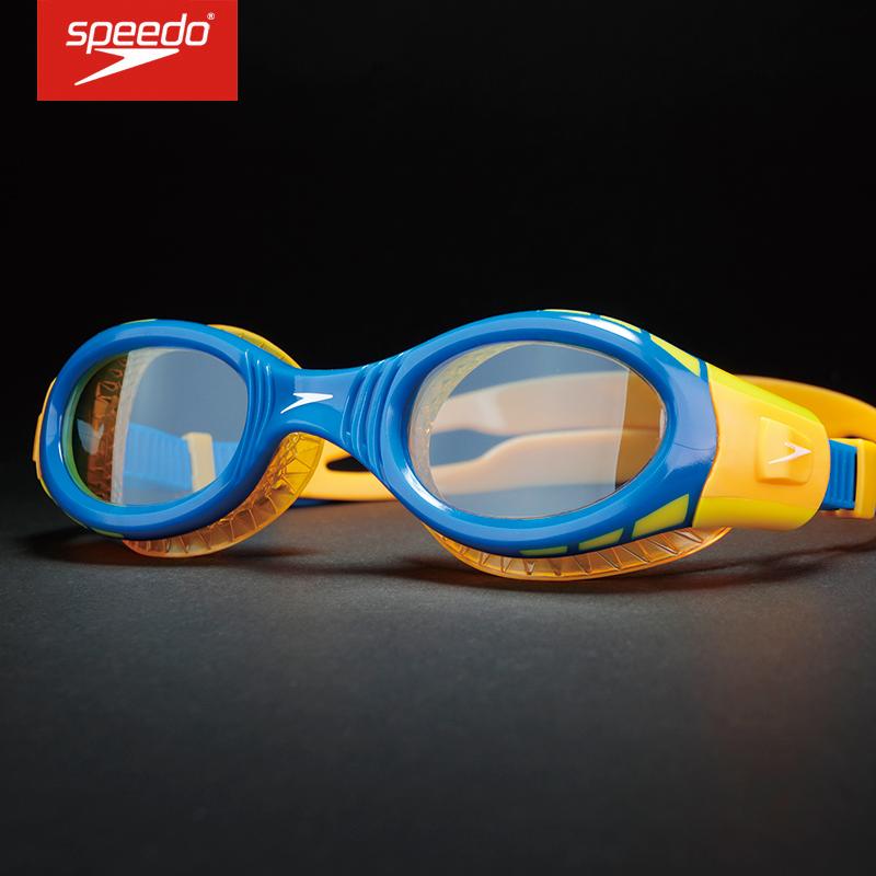 Kính bơi cho trẻ em speedo mới 6-14 tuổi Kính bơi chống sương mù độ phân giải cao cho bé trai và bé gái kính bơi khung lớn - Goggles