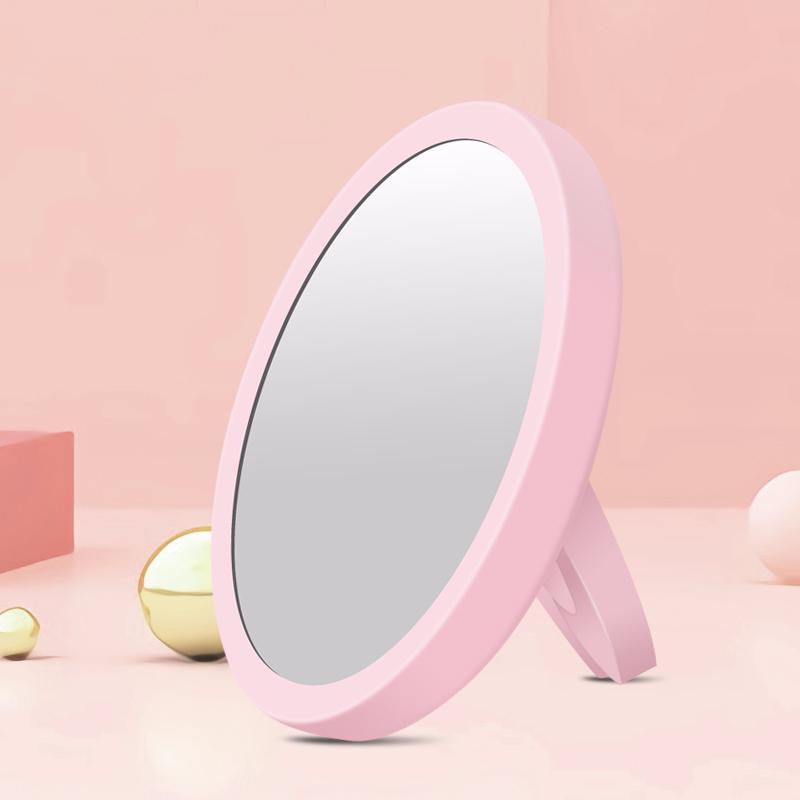 【米选家居】少女粉化妆镜网红梳妆镜-秒客网