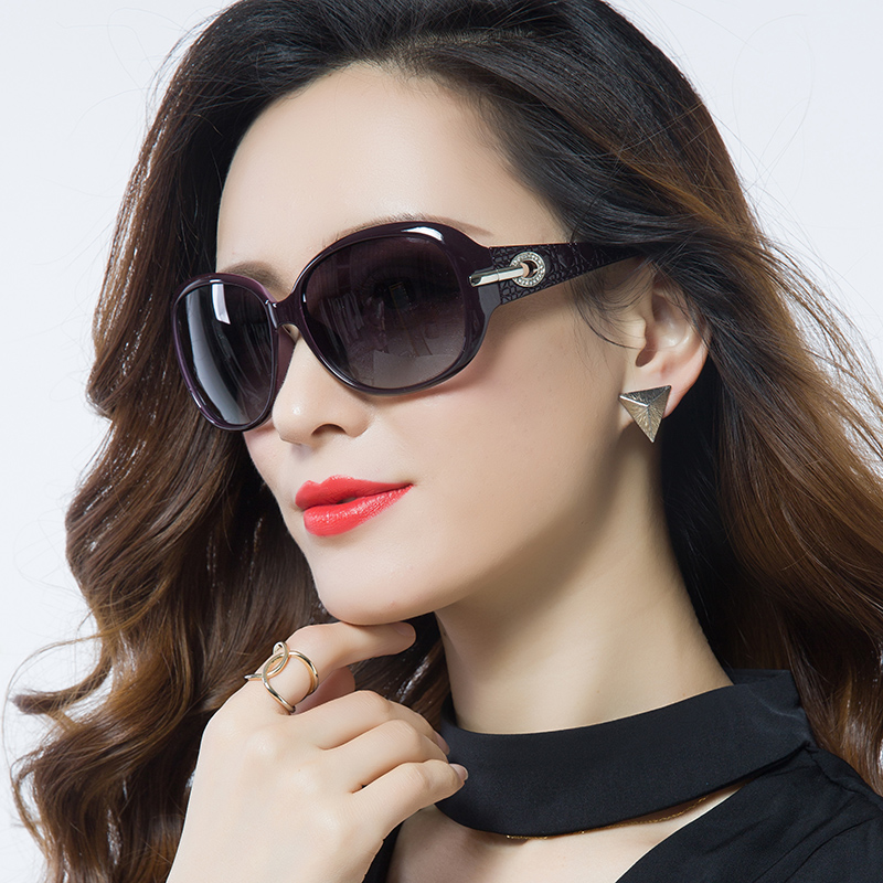 00b9a4cb9e 2019 New polarized anti-UV sunglasses female tide sunglasses female round  face myopia glasses star with the fashion