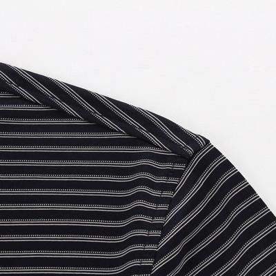Youngor Youngor mùa hè nam áo sơ mi kinh doanh bình thường polo sọc nam ngắn tay T-Shirt nam 4896
