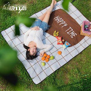 野餐垫防潮垫草坪ins风户外春游垫子地垫加厚防水便携野炊野餐布