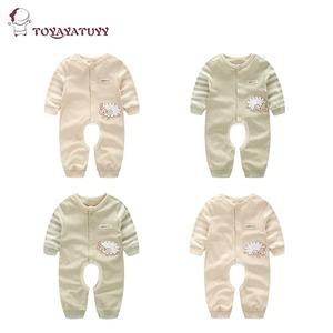 童装宝宝婴儿连体衣全棉哈衣爬服