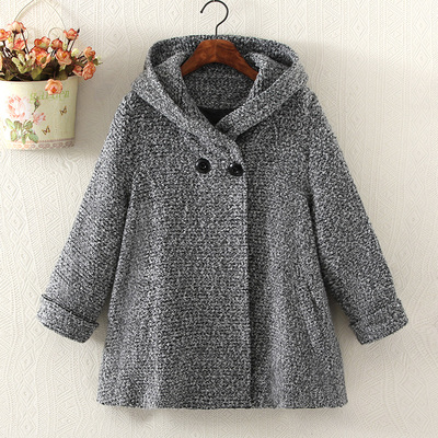 Women's new autumn and winter 2016 coat cape woolen coat female models retro coat