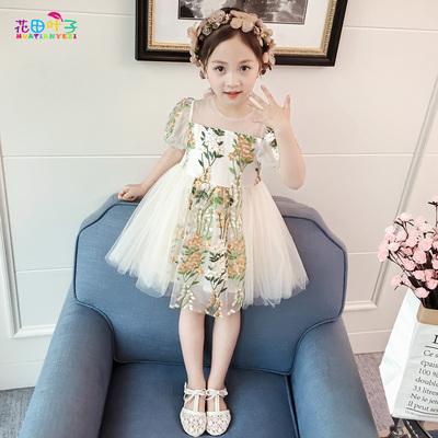 2018新款韩版女童连衣裙