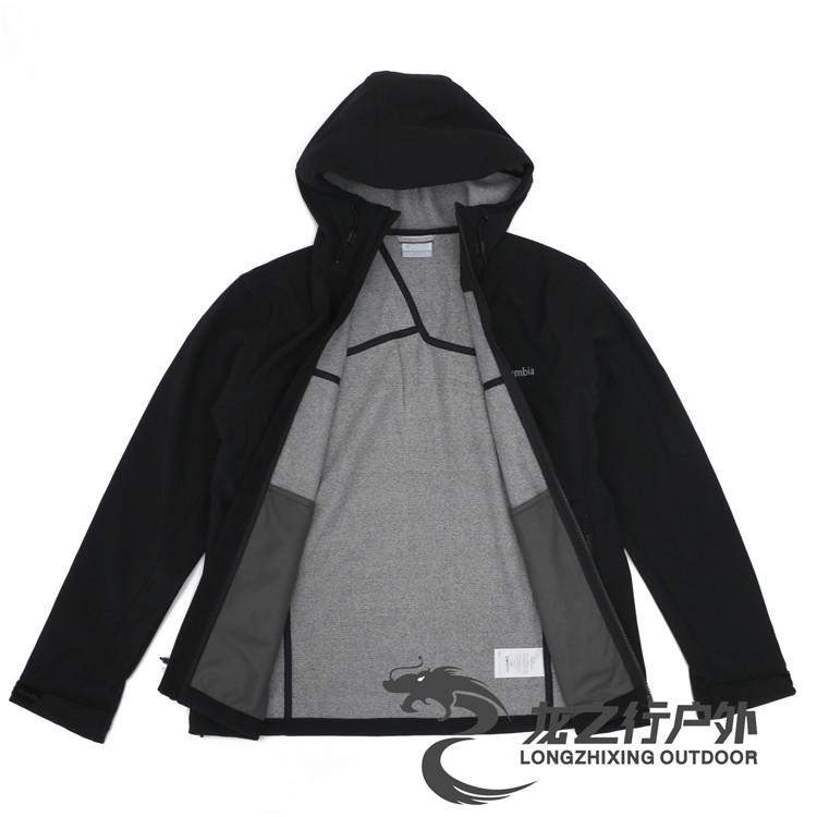 正韓男裝3.8折專享秋冬Columbia哥倫比亞戶外男防風保暖軟殼衣外套PM4976