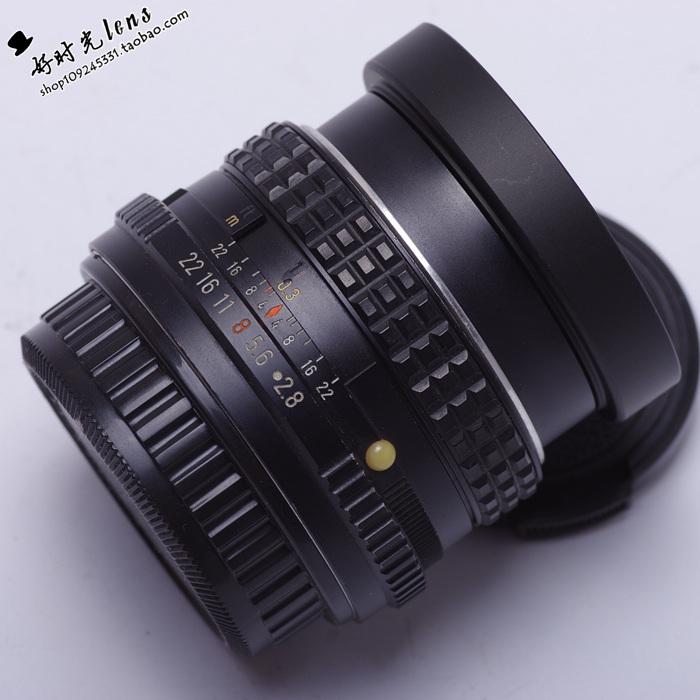 宾得PK-M35/2.8镜头人文定焦手动广角35MMF2.8PK口EOS