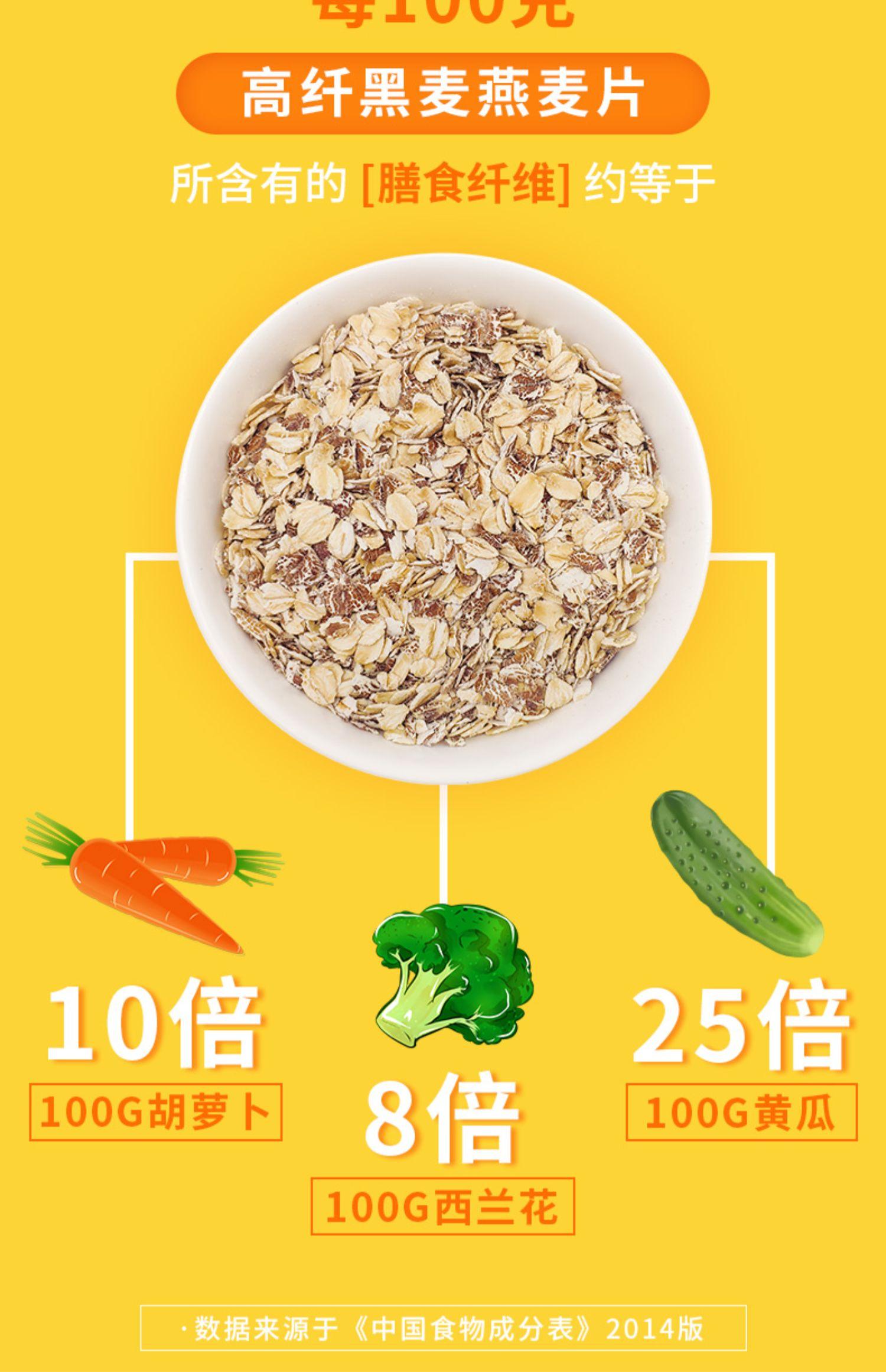 西麦黑麦谷物燕麦片燕麦片9
