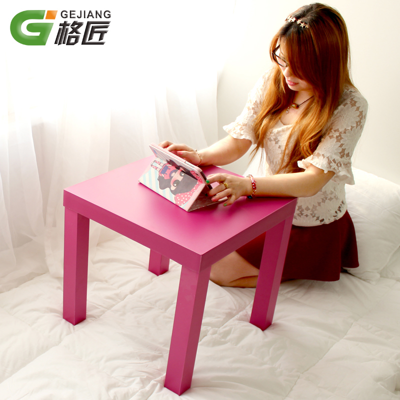 创意小茶几儿童小方桌子沙发边桌边几咖啡桌幼儿园小桌子简约现代