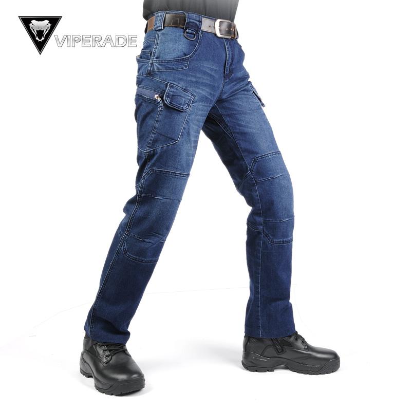 VIPERADE гравий IX7 держать политика офицер тактический джинсы через посещаемость прямо тонкий весна сделать поезд длинный мужской брюки