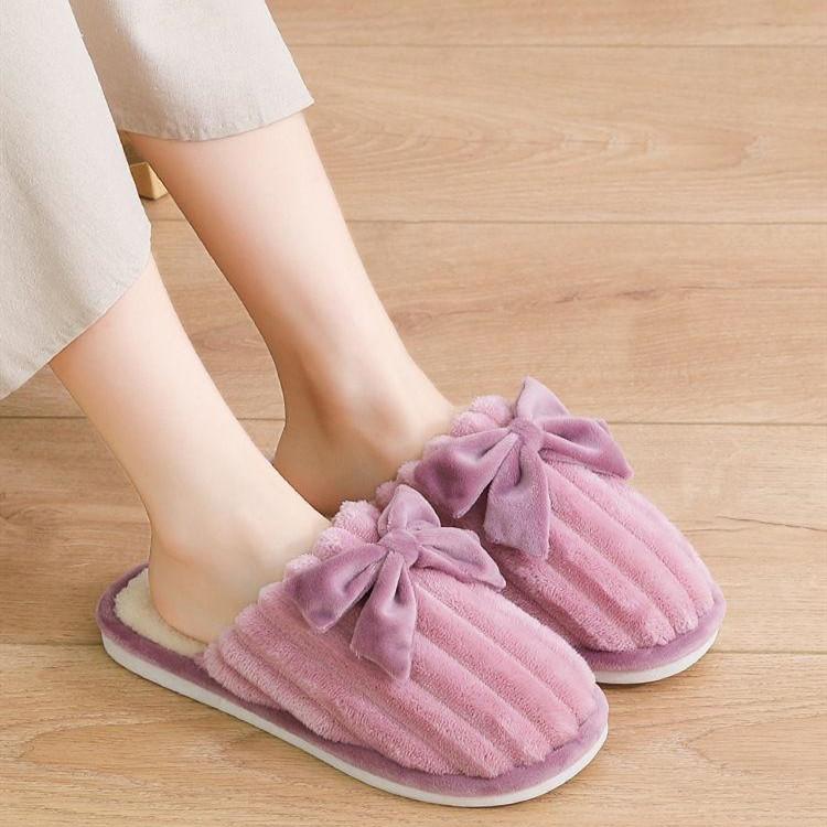 冬季棉拖鞋女加绒月子鞋情侣棉拖家居室内厚底防滑保暖毛拖鞋男士