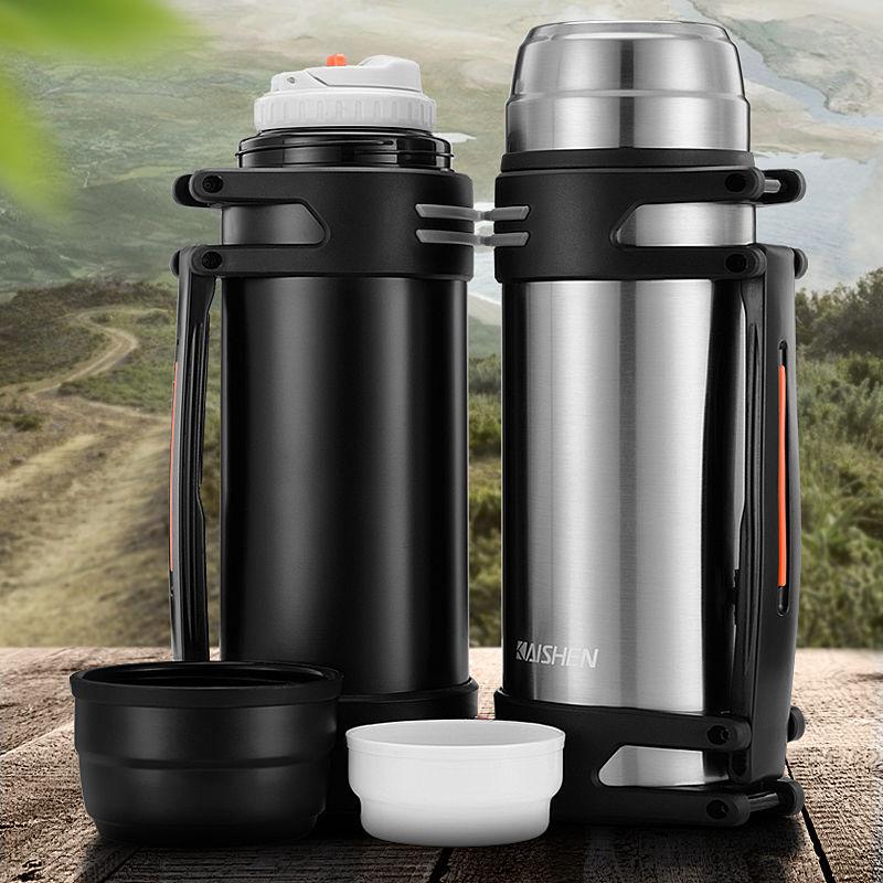 不锈钢保温壶户外大容量保温杯男女便携车载商务旅行水壶家用暖瓶