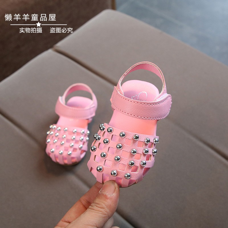 great deals 2017 high quality new lifestyle 0-1-2-3 year-old girl in spring and summer sandals a half year old ...