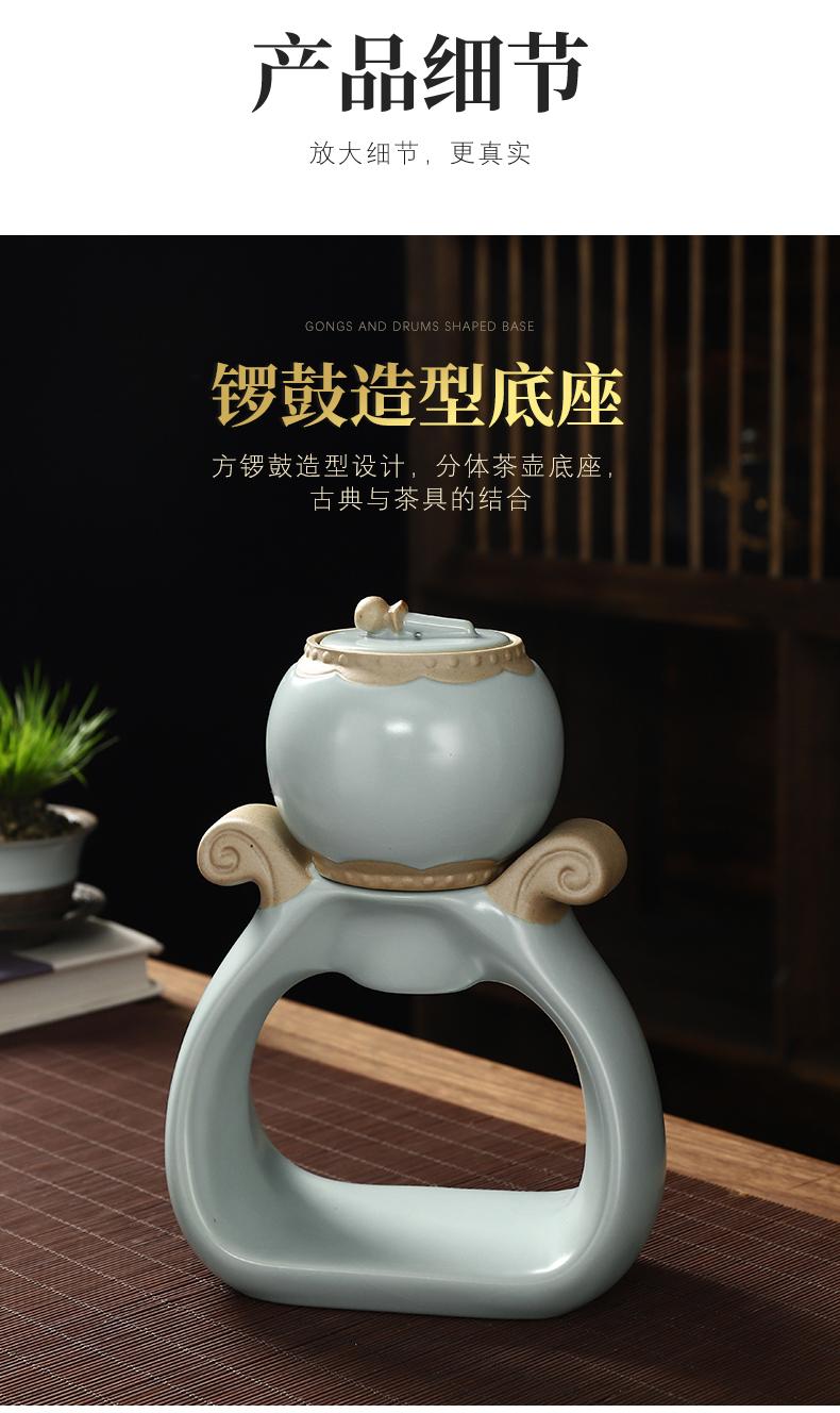 Recreational product master Chen Quangui tonggu quoted your up automatic tea set piece can raise your porcelain kung fu tea set