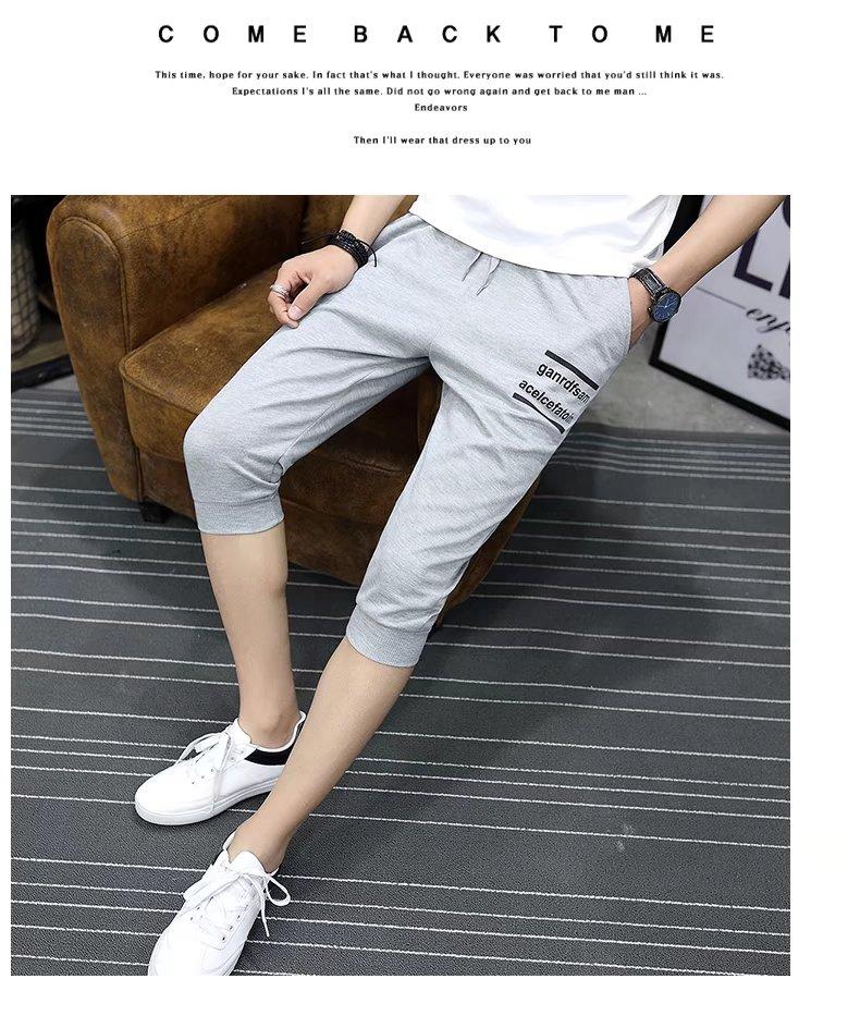 9.9 mùa hè đặc biệt quần short nam Hàn Quốc phiên bản của tự trồng giản dị cắt quần mùa hè phần mỏng quần thanh niên 5 điểm quần triều