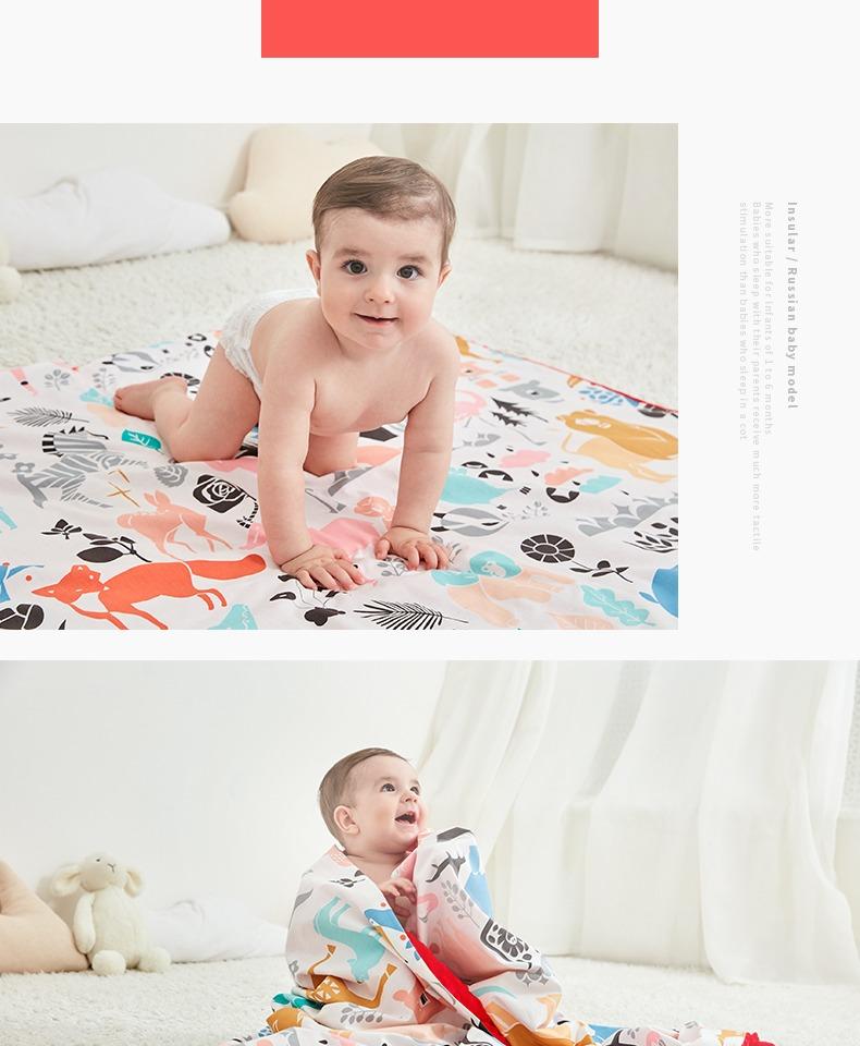 茵秀丽婴幼宝宝毛毯儿童空调被 17
