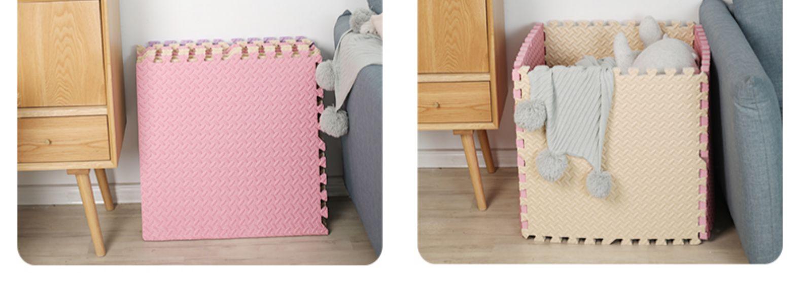 泡沬地垫拼接一整张儿童家用拼图可坐地板垫加厚婴儿爬行垫爬爬垫详细照片