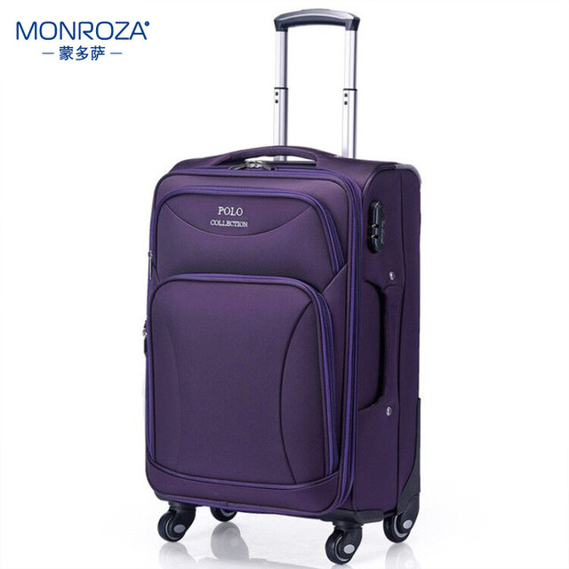 Mendosara rod box female small lightweight universal wheel male oxford cloth luggage suitcase business travel luggage