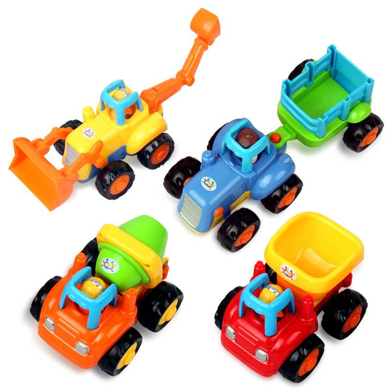 Электронная игрушка для детей Обмен музыкой 326 инерции инженерных руления транспортного средства трактор бульдозер автобетоносмеситель детей игрушки автомобиля детские автомобили