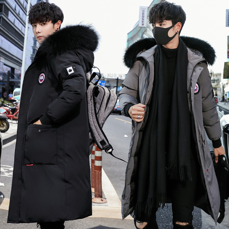 Usd 68 40 Canadian Wind Wool Clothing Men Winter Korean Version Of The Long Thick Jacket Down Cotton Wool Winter Cotton Fashion Men S Wear Wholesale From China Online Shopping Buy Asian