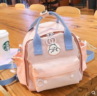 Mommy bag small multifunctional 2020 new fashion maternal and child bag portable lightweight backpack messenger outing bag