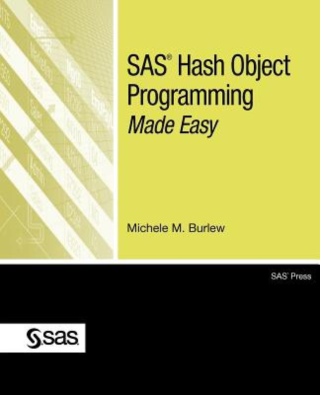 【预售】SAS Hash Object Programming Made Easy