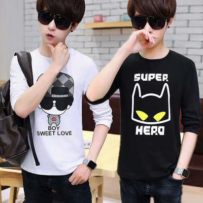 15 autumn 16 young men's clothing 12 junior high school students 14 boys 13 cotton 18-year-old boy long-sleeved T-shirt jacket