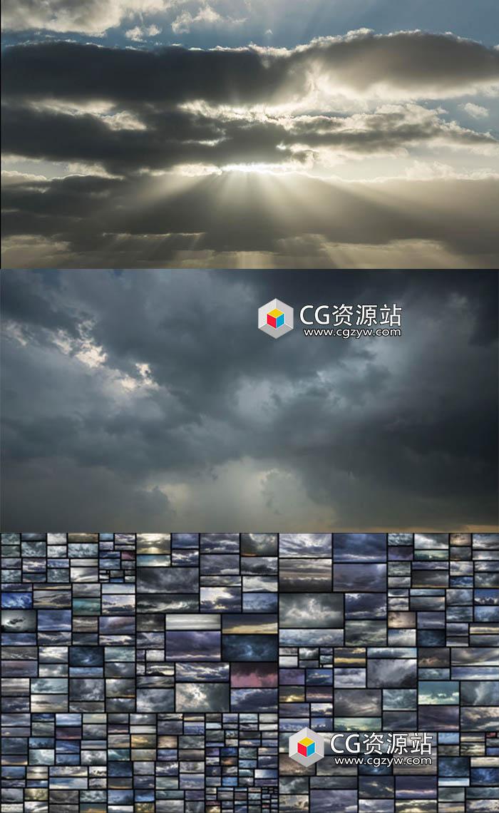 388组天空乌云高清图片合集