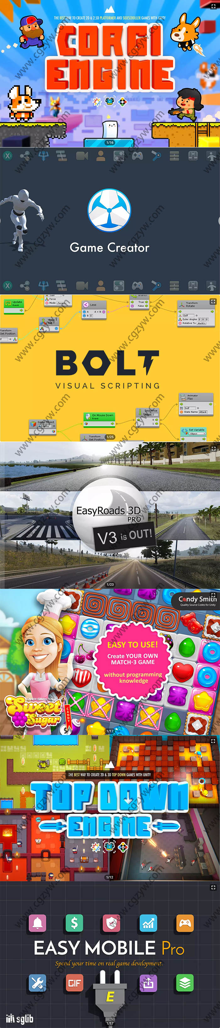 Unity游戏资源素材2020年4月合集第一波
