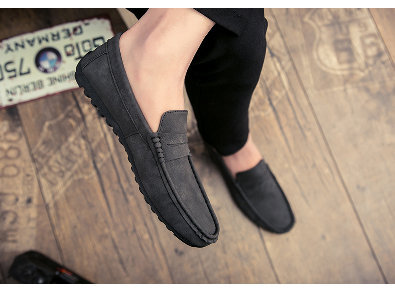 Spring and autumn new youth trend shoes flat comfortable casual men's shoes 63