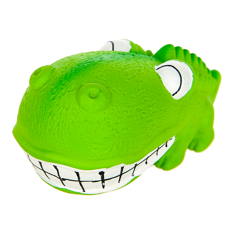Latex Crocodile Trumpet (green)