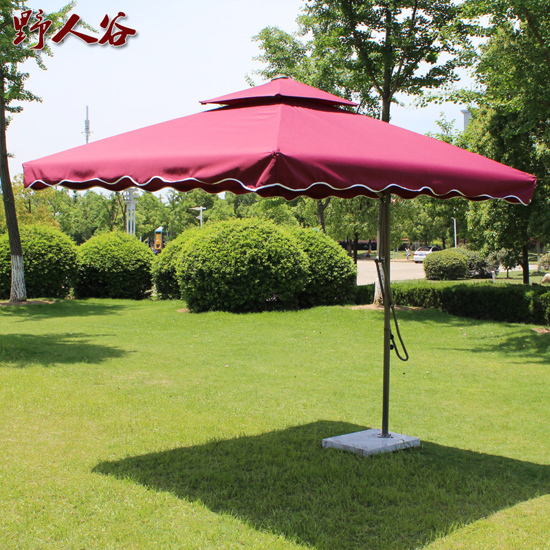 Superbe Outdoor Parasol Outdoor Umbrella Large Beach Parasol Stall Umbrella Square  Folding Umbrella Garden Umbrella Outdoor Sun