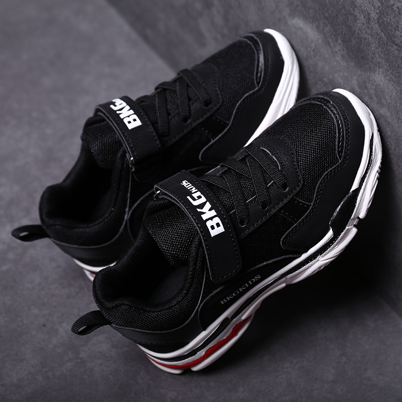 Boys shoes children's shoes men 2018 new spring and autumn old sneakers mesh breathable big children's casual shoes