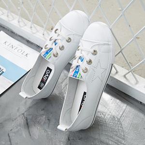 2018夏季新款小白鞋女韩版
