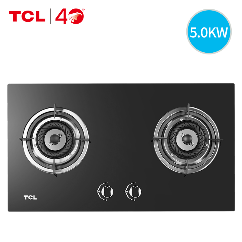 TCL501B燃气灶煤气灶双灶家用嵌入式炉灶