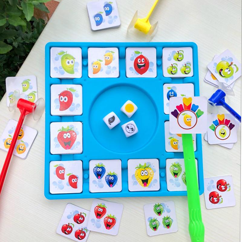 Brain Power Battle Fruit Hút câu đố Đồ chơi tương tác giữa cha mẹ và con cái - Trò chơi cờ vua / máy tính để bàn cho trẻ em
